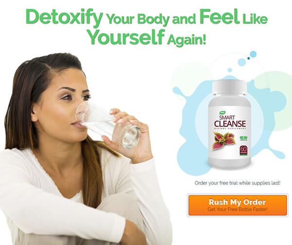 Smart Cleanse Detox Colon Cleasing Fomrula